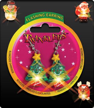 70a734291 Twinklers - Christmas Flashing Earrings